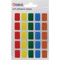 BLICK LABEL BAG 12X18 ASSTD PK120