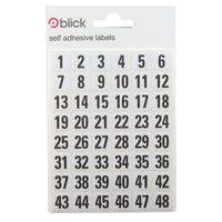 BLICK LABEL BAG 00-99 WHT/BLK