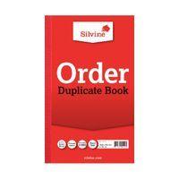 SILVINE DUPLICATE BK 8.25X5 ORDER