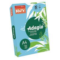 ADAGIO CARD 160G A4 BLUE PK250