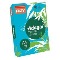 ADAGIO CARD 160G A4 DEEP BLUE PK250