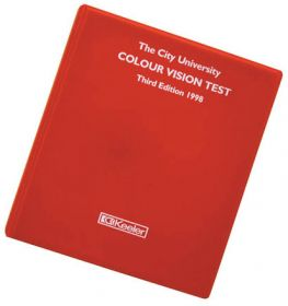 Keeler 2206-L-1057 3rd Edition City University Colour Vision Test