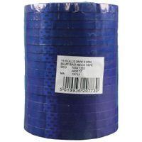 VINYL TAPE 9MMX66M PK16 BLUE