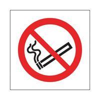 NO SMOKING 100X100MM S/A KP01N/S