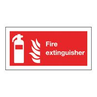 FIRE EXTINGUISHER 100X200MM S/A