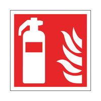 SIGN FIRE EXTING SYMBOL 100X100MM