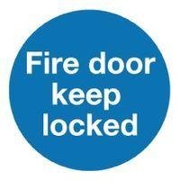 FIRE DOOR K/LOCKED 100X100MM S/A