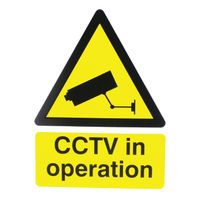 CCTV IN OP RIGID SIGNCTV3B/R 400X300