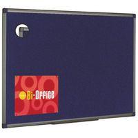 BIOFFICE BLU FELTBOARD 600X450 ALUM