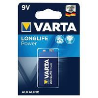 VARTA HIGH ENERGY BATTERY 9V PK 1