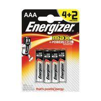 ENERGIZER MAX BATTERIES AAA PK4 PLUS