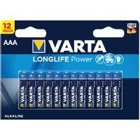 VARTA HIGH ENERGY AAA BATTERY P12