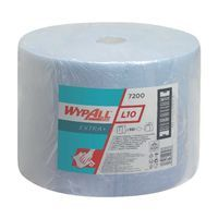 WYPALL L10 EXTRA PLUS WIPES BLUE