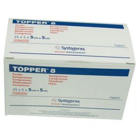 Sterile Topper Swabs, Large (40 Packs of 5)