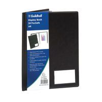 GUILDHALL DISPLAY BOOK A4 24 POCKET