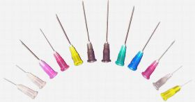 """Terumo Agani Sterile Hypodermic Needle (Violet) 24G X 1"""" [Pack of 100]"""