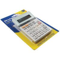 SHARP SEMI DESKTOP CALC SILVER