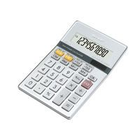SHARP SEMI DESKTOP CALC SILVER 141-6734