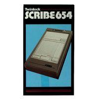 TWINLOCK SCRIBE REGISTER P654