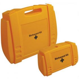 Evolution Yellow Biohazard Small Case, Empty