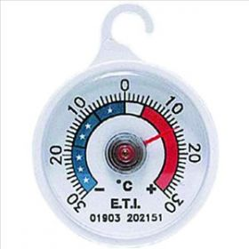 Dial Fridge / Freezer Thermometer With Hook
