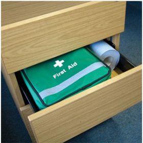 British Standard Compliant First Aid Grab Bag Small