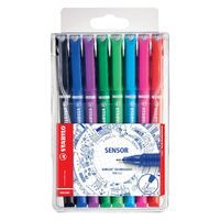 STABILO SENSOR FINELINER ASSORTED