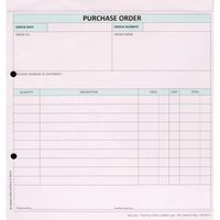 CUSTOMF 3-PART PURCHASE ORDER PK50