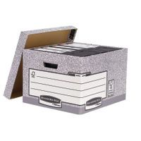 BANKERS STND LGE STORE BOX GRY PK10