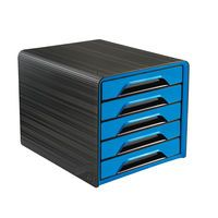CEP SMOOVE 5 DRAWER MODULE BLK/BLUE