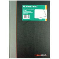 COLLINS IDEAL BOOK GREY/BLK D/CASH