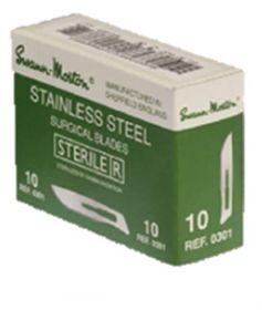 Swann-morton Sterile Stainless Steel Blades Size 10 [100]