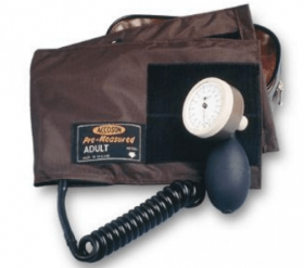 Accoson Thigh Velcro Cuff Set With Bladder Double Tube With Bulb And Valve