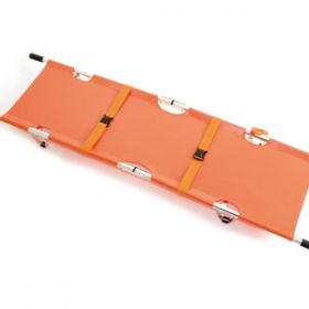 Relequip Folding Stretcher 14cm H X 52cm W X 206cm L