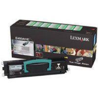 LEXMARK E450 RETPROG TNR CART BLK