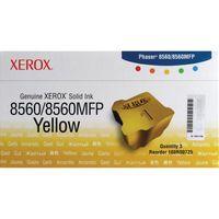 XEROX PHASER 8560 SLD INK STKS YLW 3