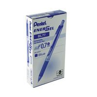 PENTEL RETRACTABLE METAL TIP BLUE