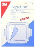 Tegaderm Film Transparent Dressing 10 x 12cm [Pack of 50]