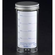 Sterilin 165B Specimen Bottles (Printed Label) 150ml [Pack of 120]