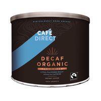 CAFEDIRECT DECAF ORG COFFEE TIN 500G
