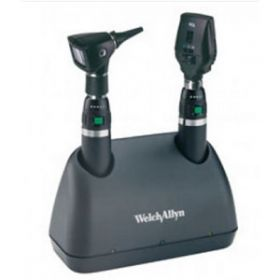 Welch Allyn 71844-SM, 3.5v Rechargeable Elite Desk Set with Lithium Ion Handles