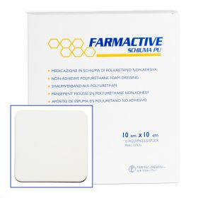 Farmactive Non Adhesive Wound Dressing 10cm x 10cm (Pack of 10)