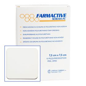 Farmactive Non Adhesive Wound Dressing 7.5m x 7.5cm (Pack of 10)