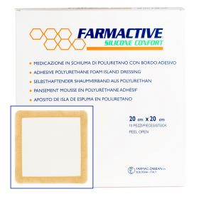 Farmactive PU Foam Silicon Adhesive 20cm x 20cm (Pack of 10)