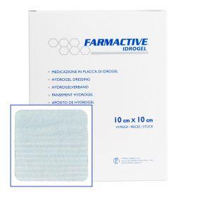 Farmactive Hyrdogel Dressing 10cm x 10cm (Pack of 10)