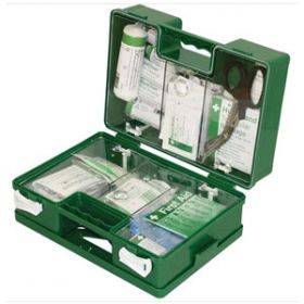 British Standard Compliant Deluxe Workplace First Aid Kits, Small