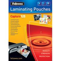 FELLOWES LAM POUCH 54X86MM 125MIC