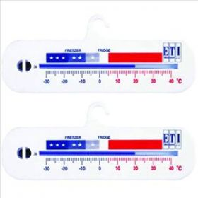 Horizontal Fridge/Freezer Thermometer