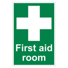 First Aid Room Sign - Vinyl 200x300mm