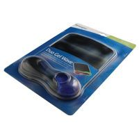KENSINGTON GEL WAVE MOUSEMAT BLU/BLK